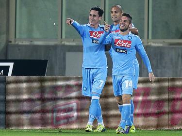 Con estos tres puntos, el Nápoles suma 66 y se coloca a 3 de la Lazio. (Foto: Getty)