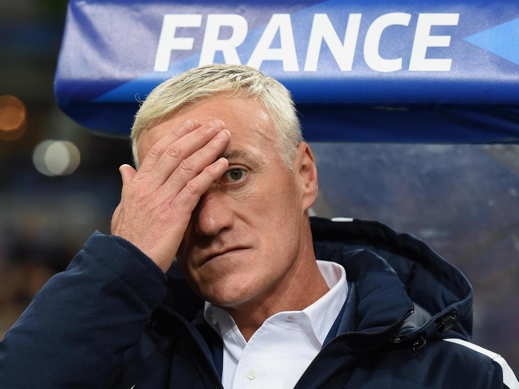 Frankreichs Trainer Didier Deschamps blieb mit seiner Mannschaft im Stadion