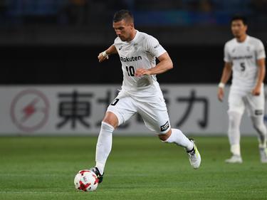 Wartet mit Vissel Kobe noch auf den ersten Saisonsieg: Weltmeister Lukas Podolski