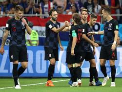 Kroatien will auch im Achtelfinale jubeln