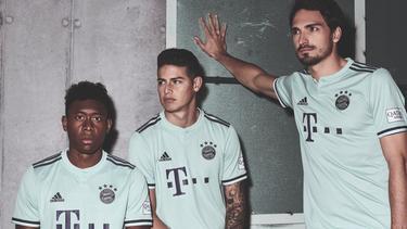 Bayern München präsentiert sein neues Auswärtstrikot