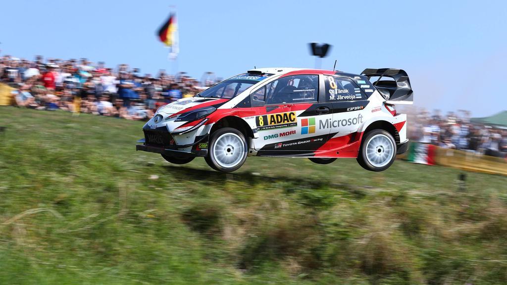 Ott Tänak dominierte die Deutschland-Rallye