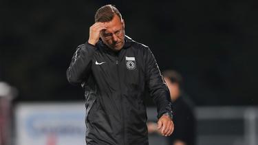 SG Sonnenhof Großaspach entlässt Trainer Sascha Hildmann