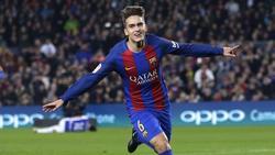 Traf im Pokal gegen Leonesa doppelt: Denis Suárez