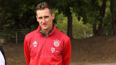 Miroslav Klose betreut die U17 des FC Bayern München als Trainer