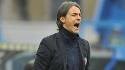 Filippo Inzaghi ist als Trainer vom FCBologna entlassen worden