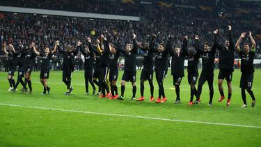 Eintracht Frankfurt steht im Achtelfinale der Europa League