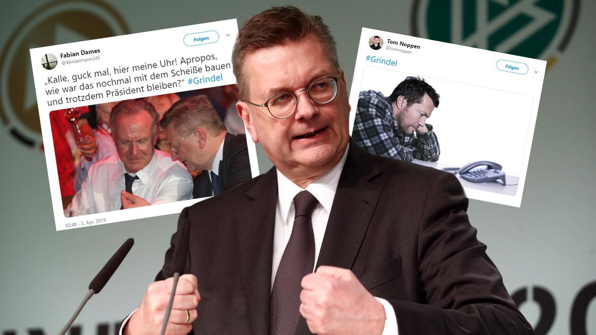 Reinhard Grindel ist von seinem Amt als DFB-Präsident zurückgetreten