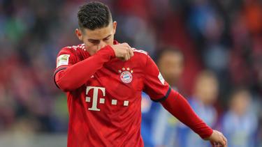 Die Zukunft von James Rodríguez beim FC Bayern ist weiter offen