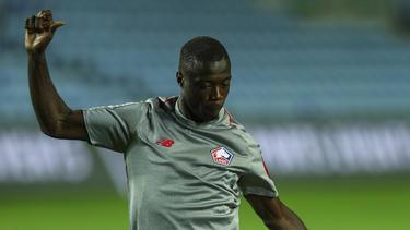 Nicolas Pépé soll sich auch auf dem Zettel des FC Bayern befinden