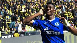 Schalke-Angreifer Breel Embolo wechselt wohl nach Gladbach