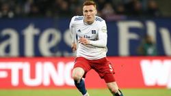 Wird vom HSV nach England ausgeliehen: David Bates