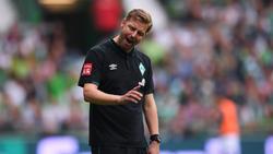 Musste mit seinem Team zum Auftakt eine Heimpleite hinnehmen: Werder-Coach Florian Kohfeldt
