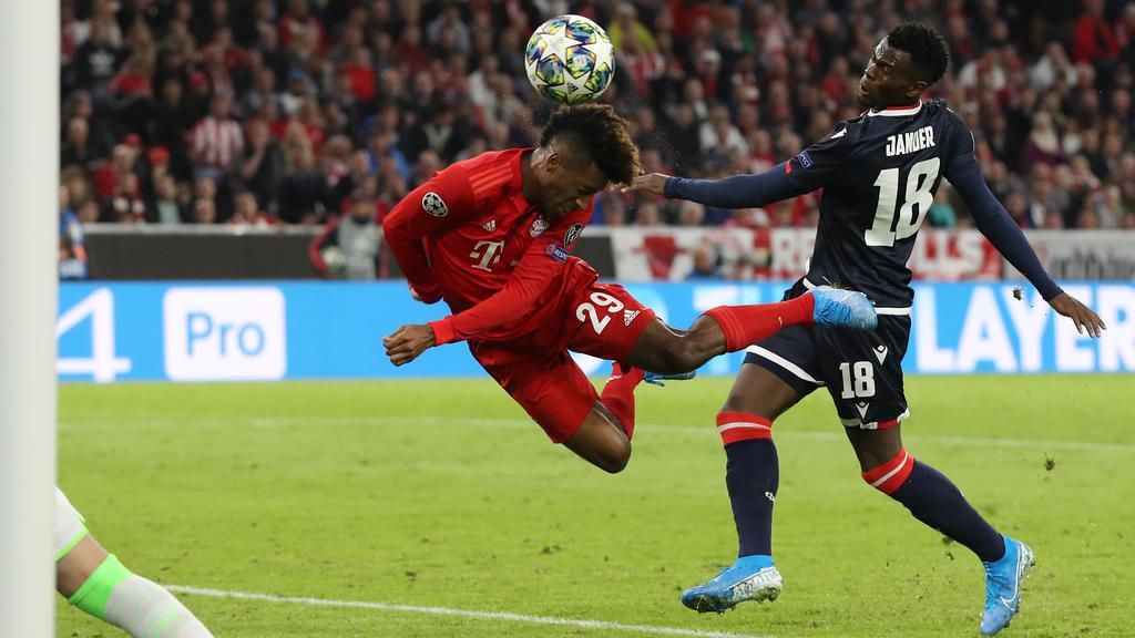 Kingsley Coman könnte dem FC Bayern gegen den 1. FC Köln fehlen