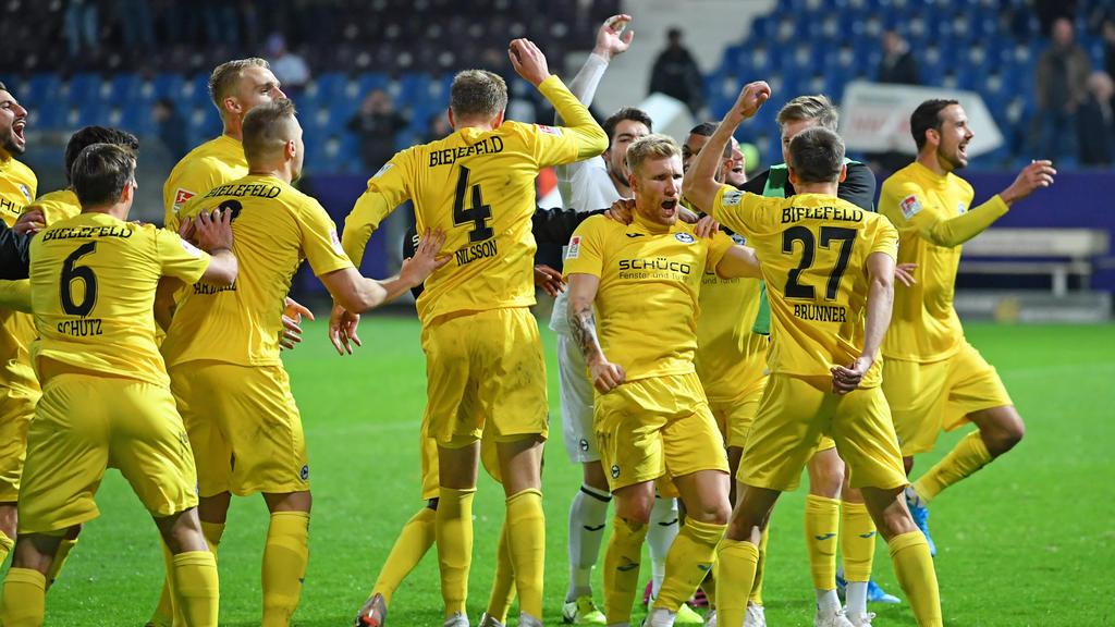 Arminia Bielefeld nimmt die Bundesliga ins Visier