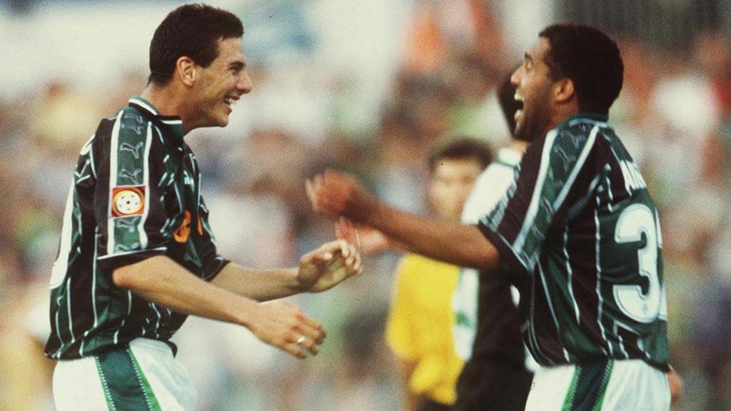 Pizarro und Ailton im September 1999