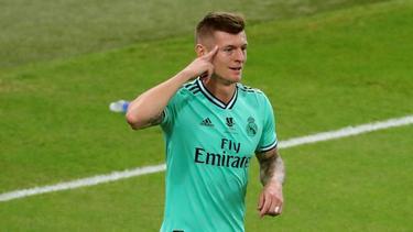 Toni Kroos erzielte einen Treffer per direkter Ecke