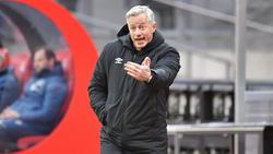 Jens Keller war mit dem 1. FC Nürnberg gegen den FC Bayern München erfolgreich
