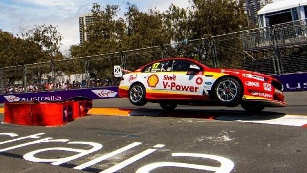 Die australischen V8-Supercars sorgen trotz wenig Aerodynamik für viel Action