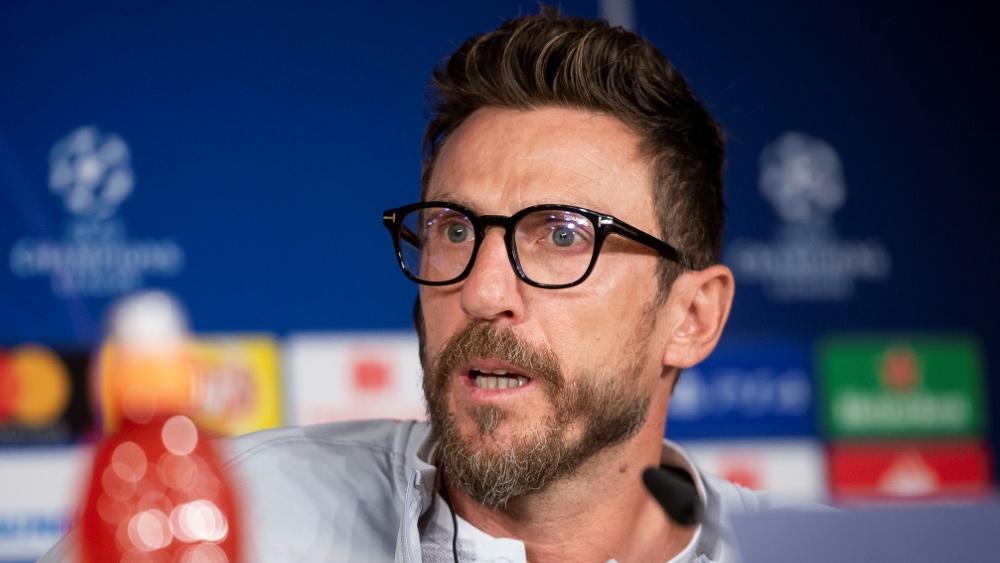 Eusebio Di Francesco trainierte bereits die AS Rom