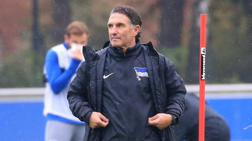 Will mit Hertha BSC zurück in die Spur: Bruno Labbadia