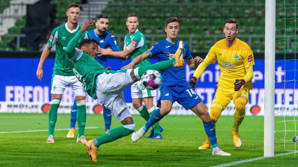 Kein Sieger im Duell zwischen Bremen und Hoffenheim