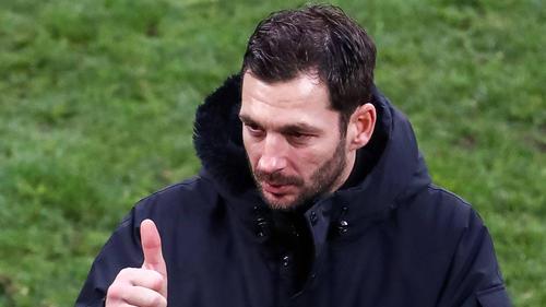 Sandro Schwarz trainiert Dynamo Moskau