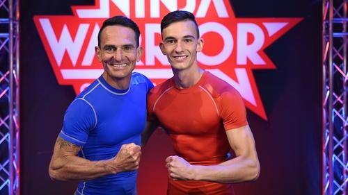 Rainer und Dennis Leiber gehen bei Ninja Warrior Germany als Familie an den Start