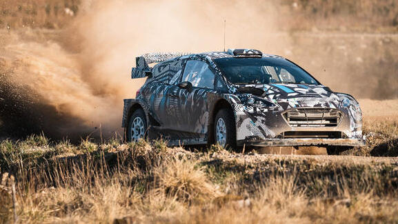 M-Sport ist dabei, den Ford Fiesta für die WRC-Saison 2022 zu testen