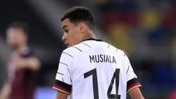 Jamal Musiala vom FC Bayern wartet noch auf eine Berufung in den Spieltagskader von Joachim Löw