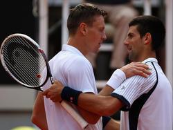 Djokovic unterliegt Berdych  im Viertelfinale