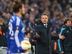 André Breitenreiter schmerzt das Ausscheiden in der Europa League