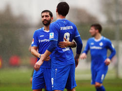 Der SV Darmstadt muss wochenlang auf Dominik Stroh-Engel (r.) verzichten
