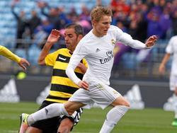 El Castilla de Martin Ødegaard es segundo a seis puntos del Barakaldo en el grupo II. (Foto: Imago)