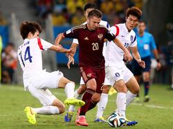 Russia vs Corea del Sud