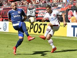 Viktoria Köln und der 1. FC Nürnberg duellieren sich im DFB-Pokal (20.08.2016)