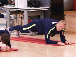 Holzhauser im Training