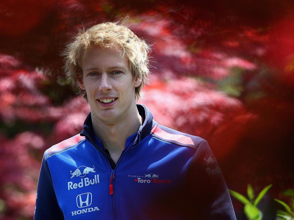 Brendon Hartley geht in der Formel 1 ins Auto