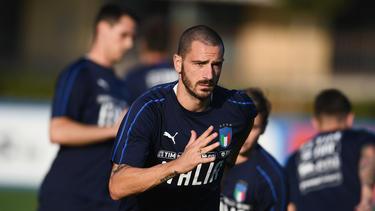 Leonardo Bonucci sorgt sich um den italienische Fußball