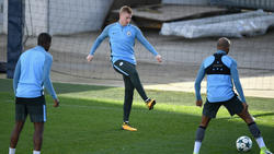 De Bruyne en un entrenamiento reciente con el City. (Foto: Getty)