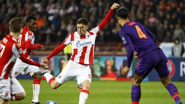 Roter Stern Belgrad hat den FC Liverpool bezwungen