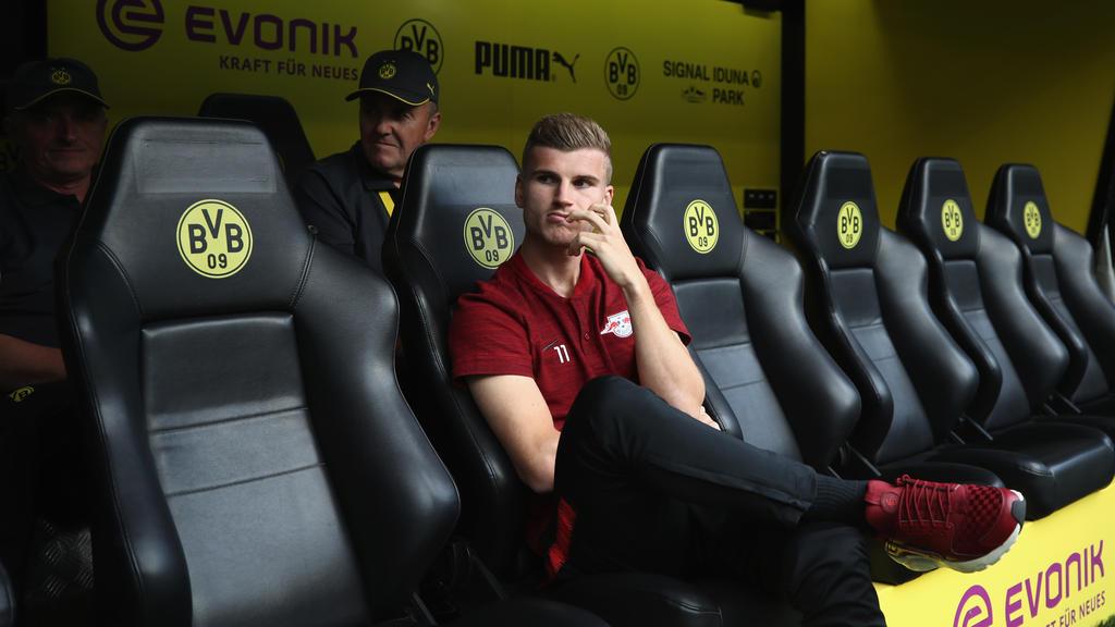 Timo Werner wird mit einem Wechsel von RB Leipzig zum BVB in Verbindung gebracht