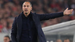 Trainer Adi Hütter liegt mit Eintracht weiter auf Erfolgskurs