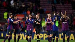 El Barcelona se impuso ayer al Levante en el Camp Nou. (Foto: Getty)