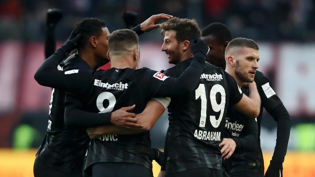 Die Mischung stimmt bei Eintracht Frankfurt