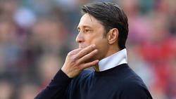 """Trainer Niko Kovac vom FC Bayern """"nicht nur enttäuscht, sondern auch verärgert"""""""