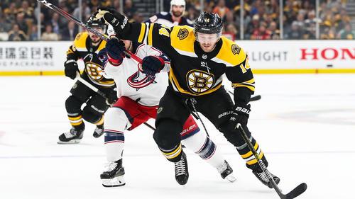 Die Boston Bruins starten erfolgreich in die Viertelfinal-Serie
