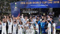 Real Madrid hat 2018 die Klub-WM gewonnen
