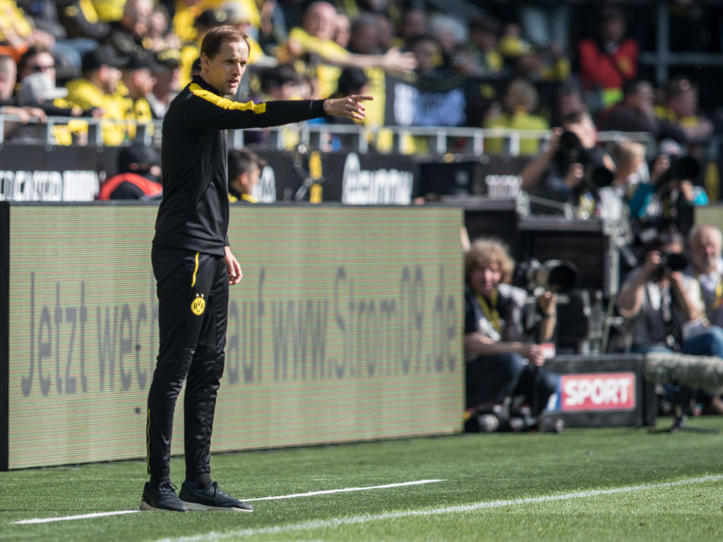 Thomas Tuchel geht optimistisch in das Saisonfinale