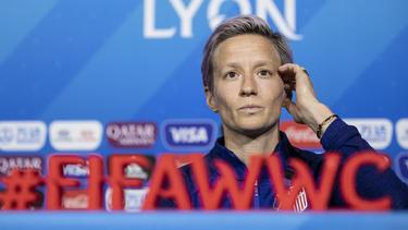 Rapinoe will mit den USA die WM gewinnen